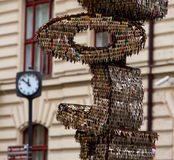 Clés Prague Photographie stock libre de droits