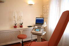Clínica da fisioterapia foto de stock