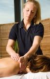 Clínica da massagem fotos de stock royalty free
