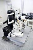 Clínica da oftalmologia imagem de stock