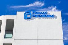Clínica da paternidade de planeamento Fotos de Stock Royalty Free