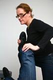 Clínica de Chiropractise Fotos de archivo libres de regalías