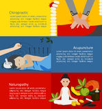 Clínica de la medicina alternativa y del tratamiento para el paciente