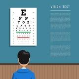 Clínica de olho do oftalmologista Imagem de Stock