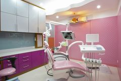 Clínica del dentista Fotografía de archivo