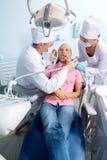 Clínica dental Foto de archivo libre de regalías