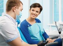 Clínica dental Oficina dental Fotografía de archivo libre de regalías