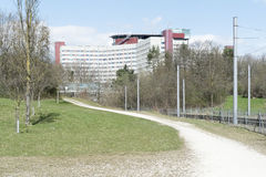 Clínica em Augsburg Fotos de Stock Royalty Free