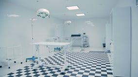 Clínica veterinária moderna Assoalho preto e branco telhado vídeos de arquivo