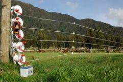 Clôture électrique image libre de droits