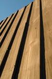 Clôture du bois de panneau Image stock