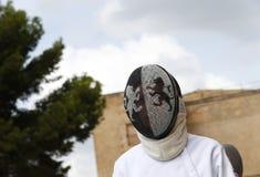 Clôture du jour du monde des détails de masque de Majorque image stock
