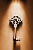 Clé aux clés Image libre de droits