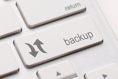 Clé d'ordinateur en réserve Image stock