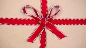 Clé de chroma de cadeau banque de vidéos
