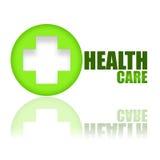 Clé à la santé Photo libre de droits