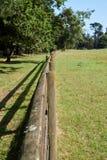 Clôture de parc Image stock