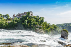 Cl, Waterfall of the river Rhein at Neuhausen, Schaffhaus Stock Photo