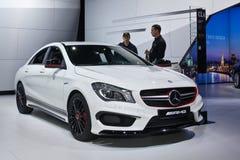 CLA 45 AMG di Mercedes-Benz Fotografia Stock Libera da Diritti