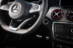 CLA 45 de Mercedes-Benz intérieur de 2016 AMG Image libre de droits