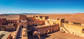 CLA Film Studios in Ouarzazate, Morocco royalty free stock photography