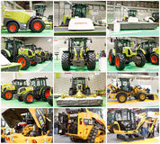 Claas and Caterpillar Royalty Free Stock Image