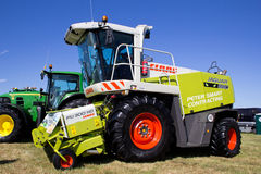 Claas forager harvester Royalty Free Stock Photo