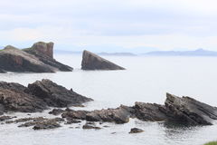 Clachtoll-Küstenlinie Lizenzfreies Stockbild