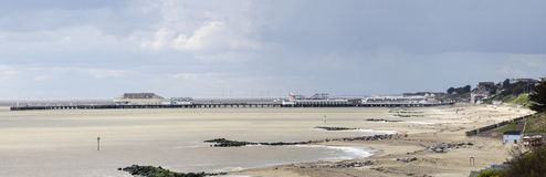 Clacton Pier viewed from the North East Royalty Free Stock Photos