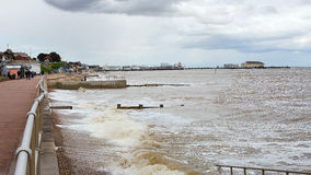 Clacton Pier viewed from the South West Stock Photography