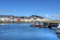 Claddagh戈尔韦在戈尔韦,爱尔兰 免版税库存图片