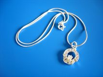 claddagh ιρλανδικό σύμβολο αγάπης Στοκ εικόνα με δικαίωμα ελεύθερης χρήσης