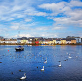 The Claddagh Galway. The Claddagh in Galway city during summertime, Ireland Stock Photography