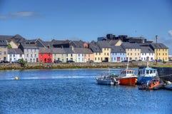 Claddagh Galway em Galway, Irlanda fotos de stock