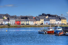 Claddagh Galway in Galway, Ireland. The Claddagh Galway in Galway, Ireland stock photos