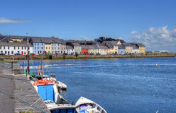 Claddagh Galway i Galway, Irland Arkivfoton
