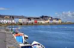 Claddagh Galway in Galway, Irlanda fotografie stock