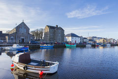 Claddagh Galway Stock Image