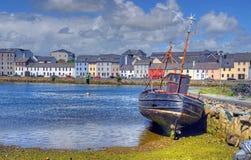 Claddagh Galway w Galway, Irlandia obraz royalty free