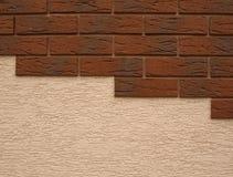 Cladding och facade arkivbilder