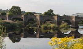 Clady-Brücke in Nordirland Stockfotos