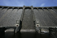 Claerwen dam, Elan Valley, Stock Image