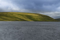 The Claerwen Reservoir. Stock Images