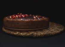Clafouti do chocolate Foto de Stock Royalty Free