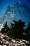 Claia Mare peak. Bucegi - Romania royalty free stock photography