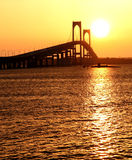 Claiborne Pell Bridge Stock Photo