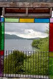 Claife Station look-out over Windermere Stock Image