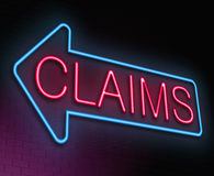 Claims concept. Stock Photo