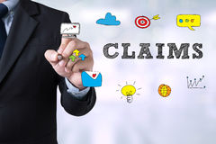 CLAIMS CONCEPT Stock Image