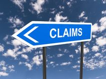 Claims direction Stock Images
